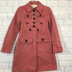 Marc by Marc Jacobs Salmon Trench Coat